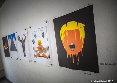 Trump-Plakate